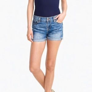 J.Crew | Cuffed Merrill Medium Wash Denim Shorts